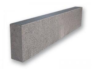 Granit-Bordstein, anthrazit, geflammt