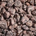 Naturgranit-rot