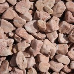 Rundkorn terracotta-rot