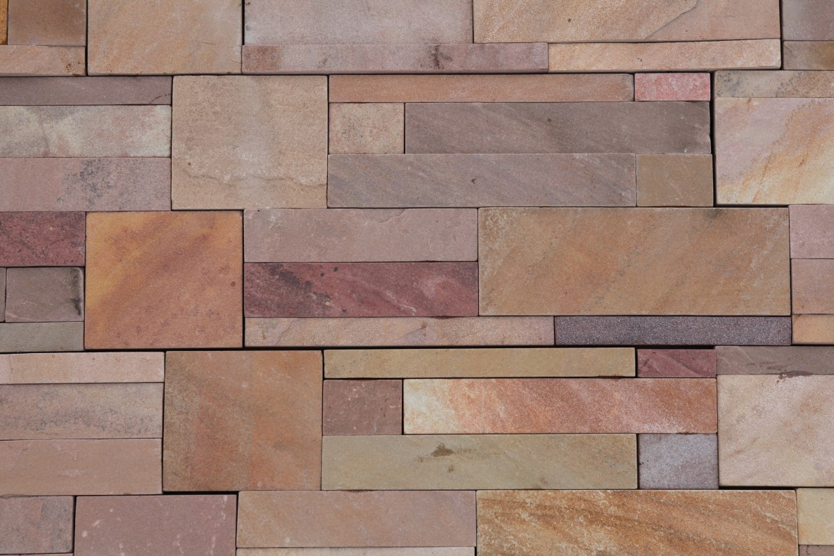 Polygonalplatten Granit grau