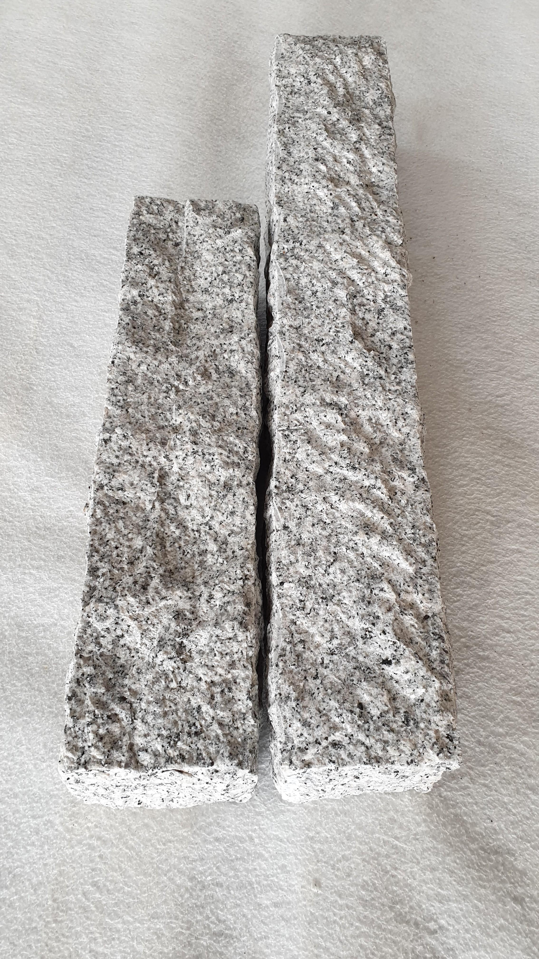 Palisade Granit Grau gespitzt günstig kaufen